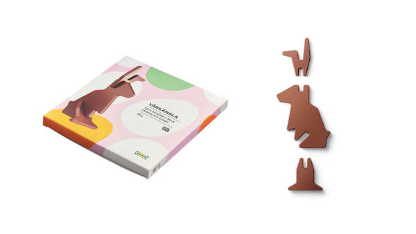 Flat-Pack Chocolate Easter Bunnies