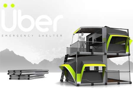 Flatpack Uber Shelters