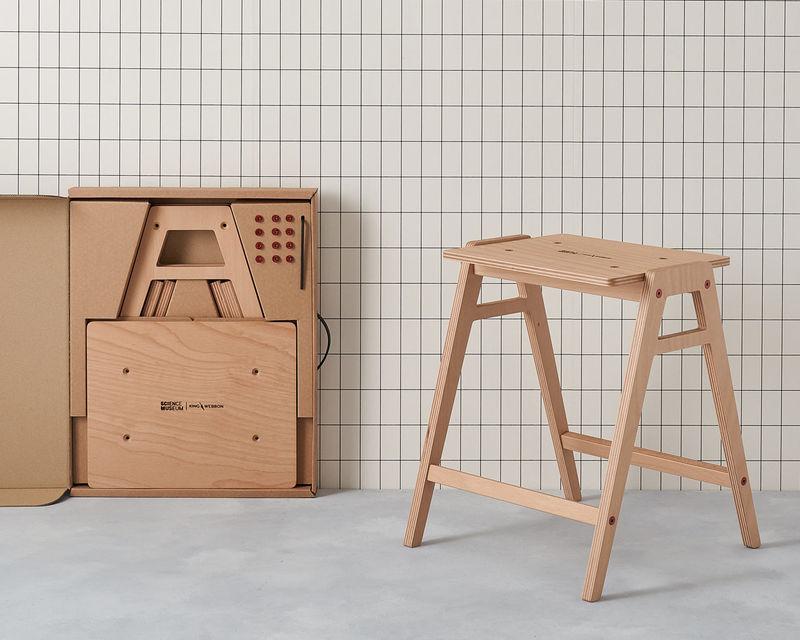 Super Lab Friendly Flat Pack Stools Flat Pack Stool Theyellowbook Wood Chair Design Ideas Theyellowbookinfo