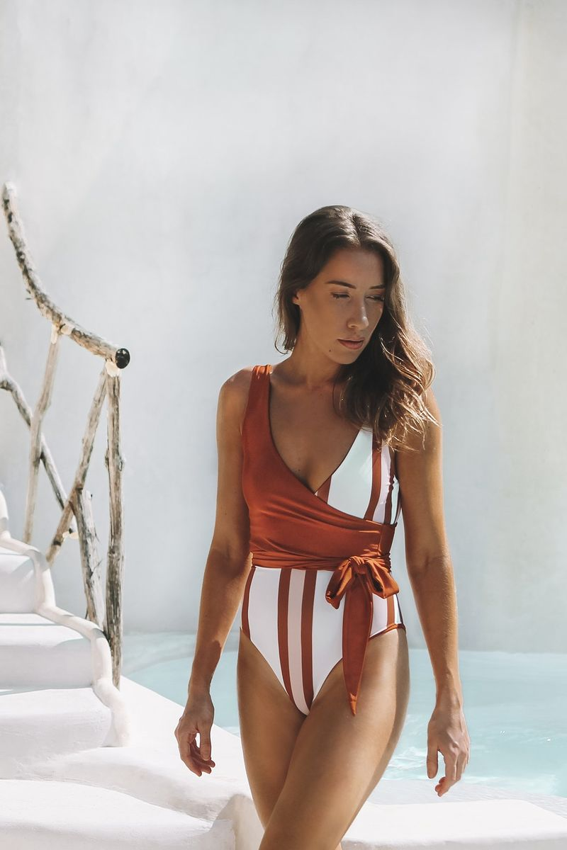 Upcycled Flattering Swimsuits