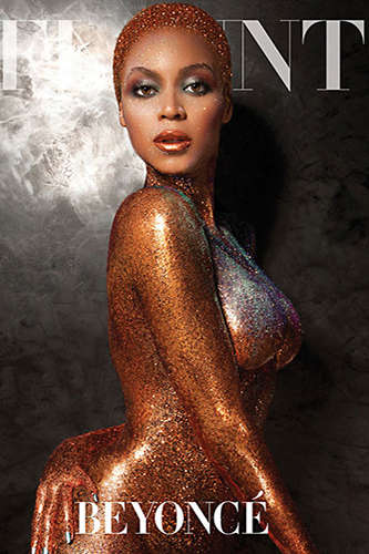 Glittered Superstar Editorials