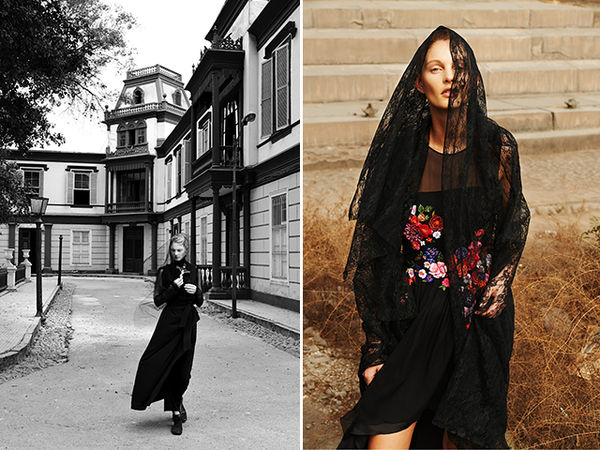 Elegantly Veiled Editorials