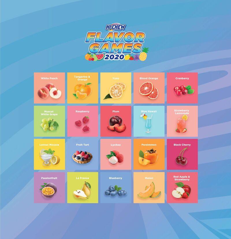 Flavor-Choosing Candy Games