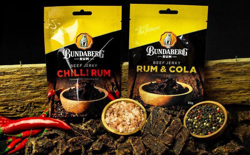 Rum-Flavored Meat Snacks