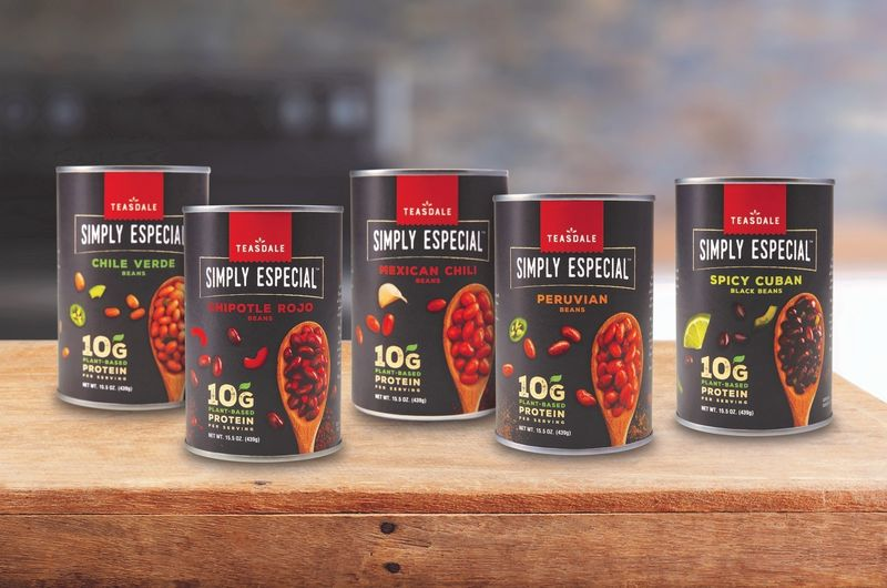 Latin-Inspired Canned Beans