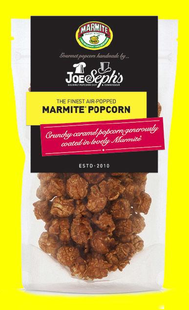 Marmite-Flavored Popcorn