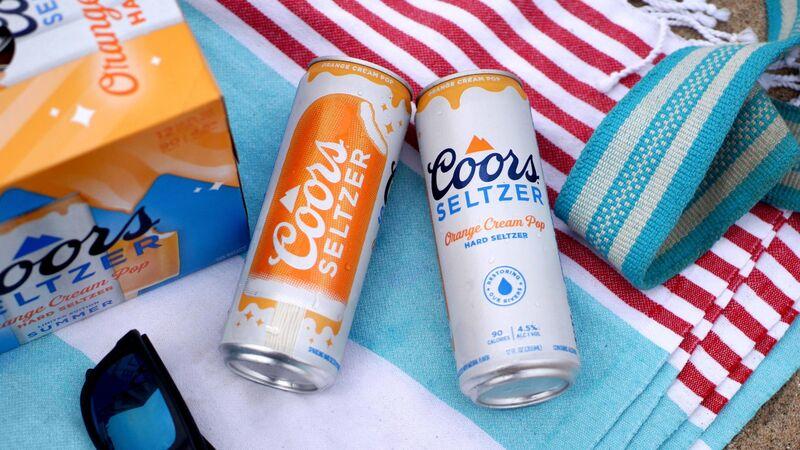 Orange Cream Hard Seltzers