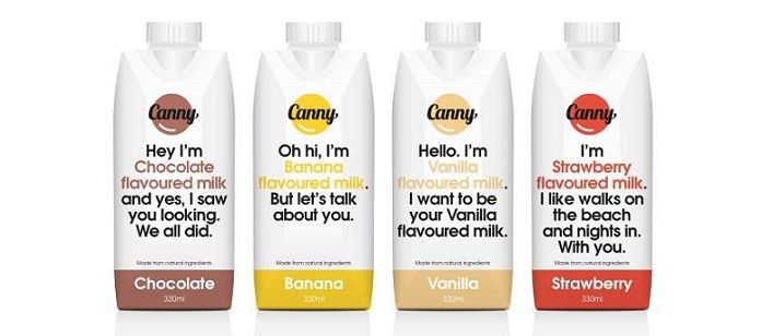 Sassy Dairy Packaging