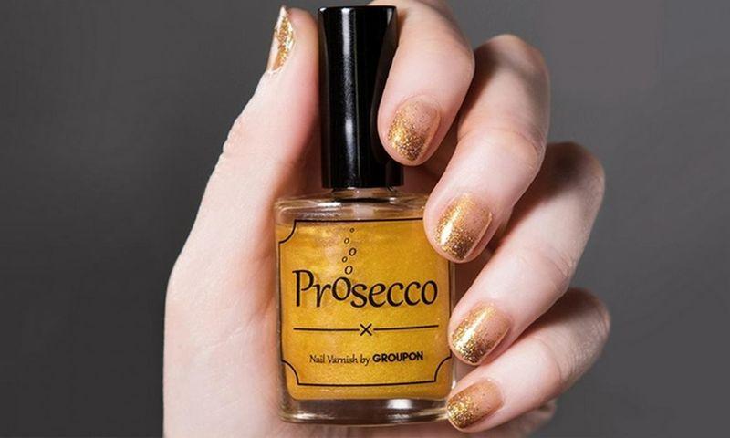 Prosecco-Flavored Nail Polish