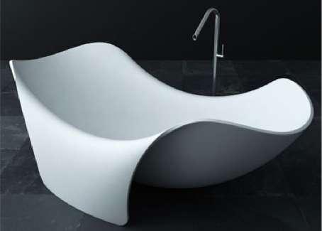 floppy bathroom fixtures : fl'eau bathtub