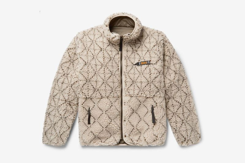 Japan-Inspired Print Fleece Jackets