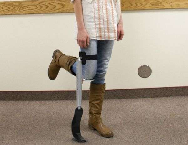 Prosthetic-Inspired Crutches