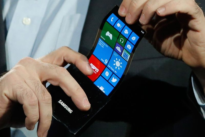 Flexible Smartphone Screens