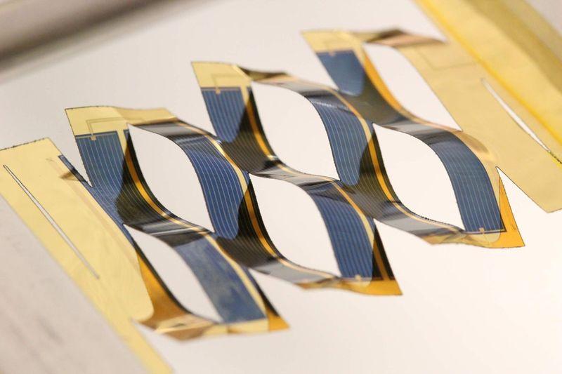 Kirigami-Like Solar Panels