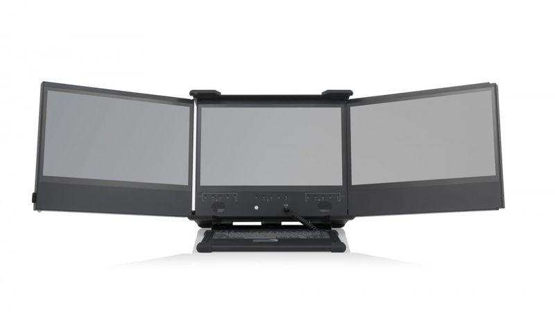 Portable Triple-Screen PCs