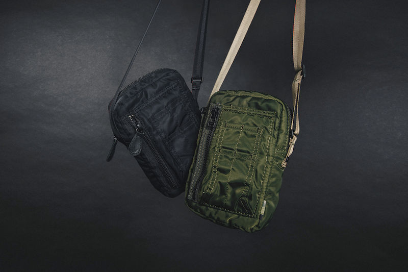 Militaristic Nylon Travel Bags