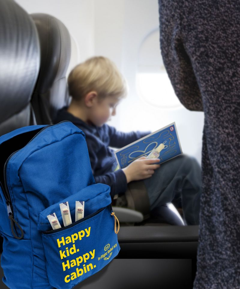 Child-Specific Flight Care Packs