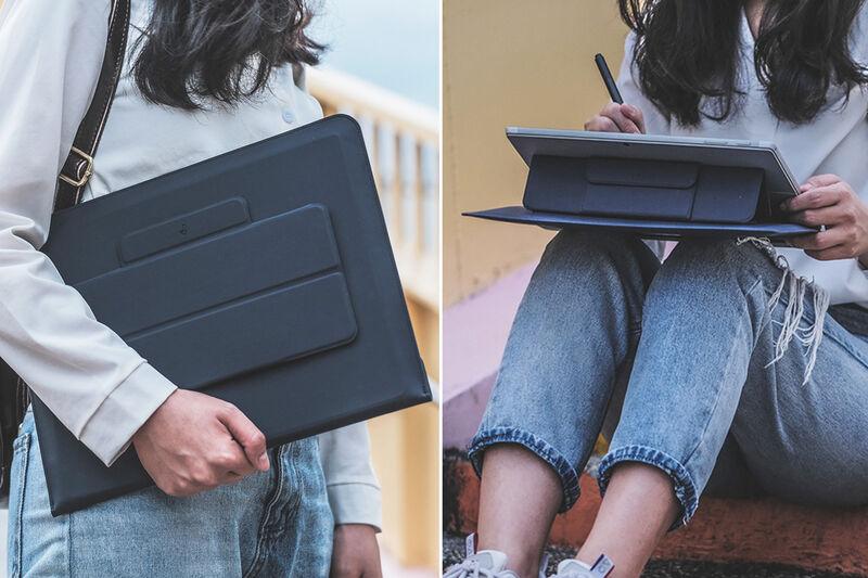 Ergonomic Laptop Sleeve Stands