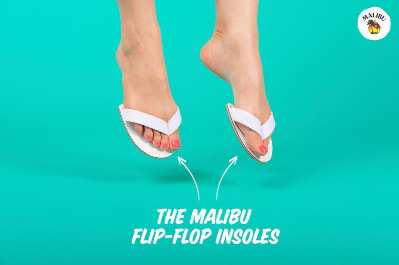 Parody Winter Flip-Flops