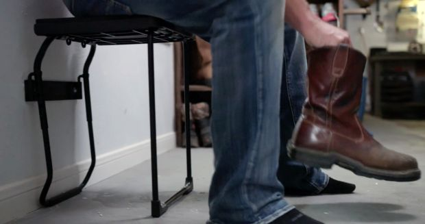 Space-Saving Collapsible Stools