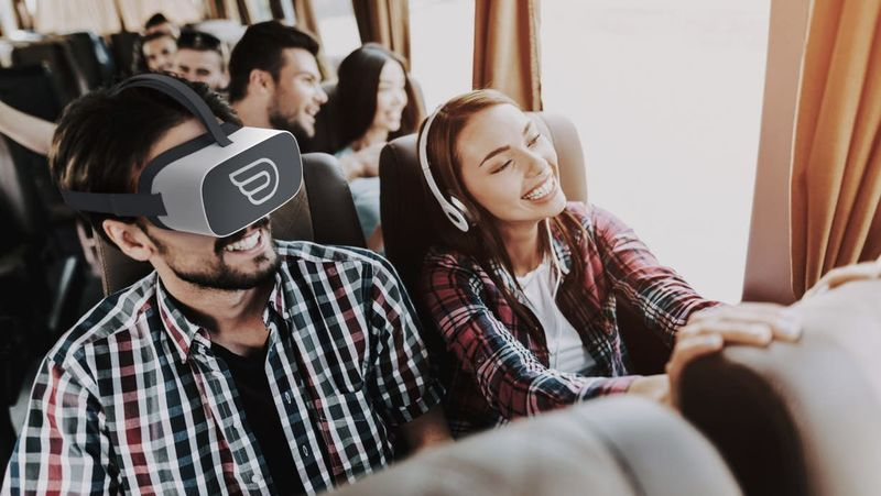 Virtual Reality Bus Services