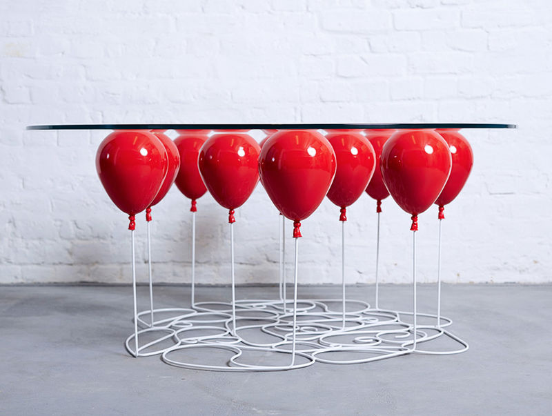 Floating Balloon Tables