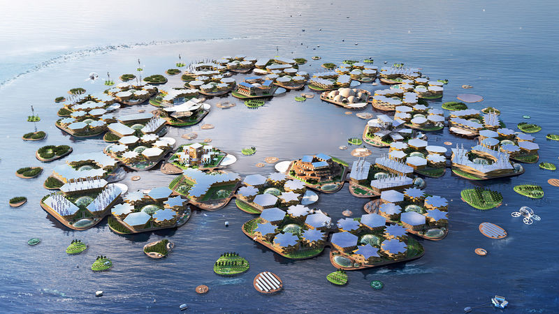 Ambitious Floating City Concepts