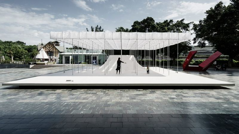 Floating Pavilion Structures