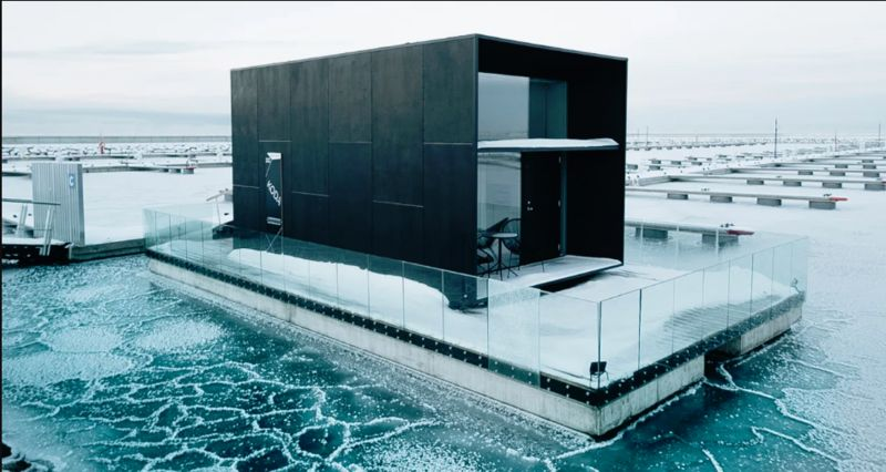 Modular Floating Prefabricated Homes
