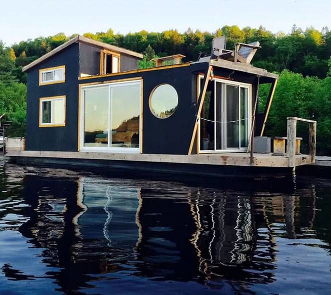 Floating Tiny Houses