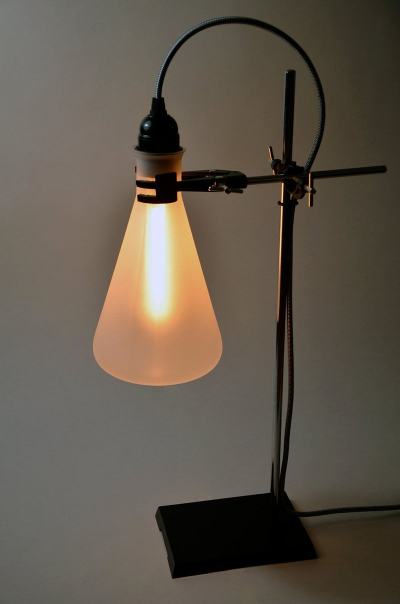 Scientific Flask Lamps