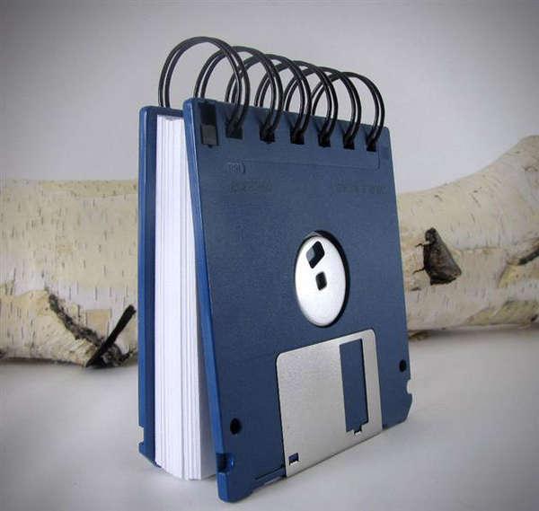 Retro Data Storage Journals