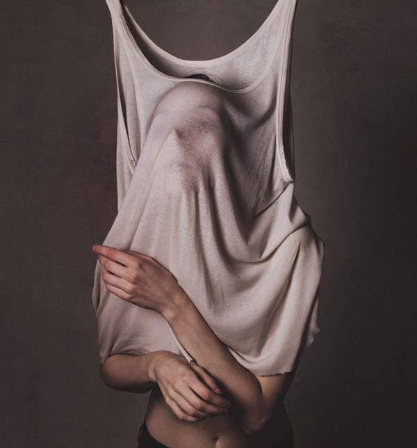 Bizarre Faceless Shirt Photography