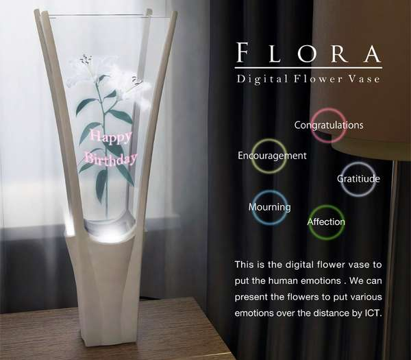 Virtual Flower Vases