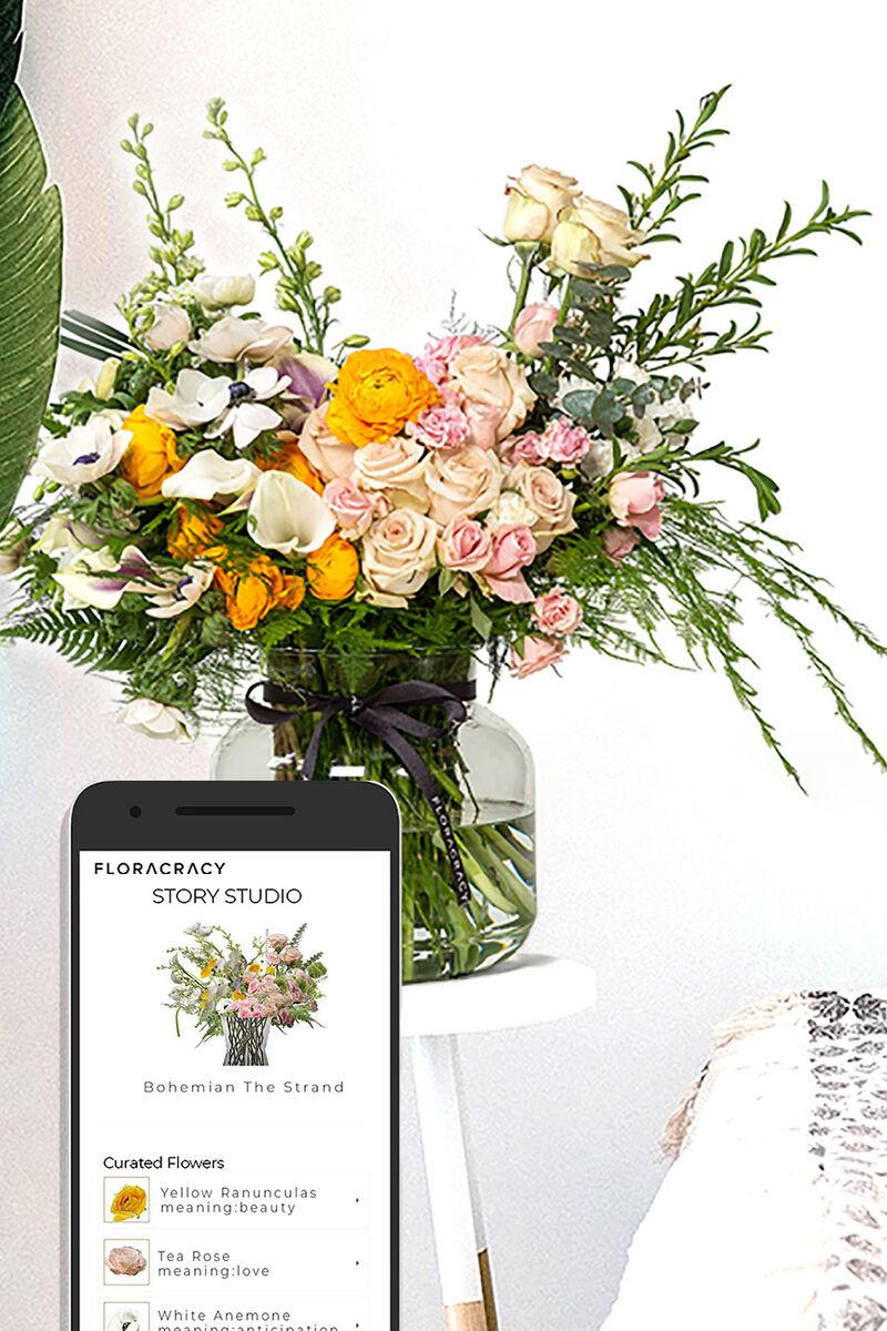 AI-Driven Online Floral Shops
