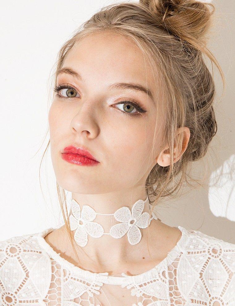 Floral Choker Necklaces