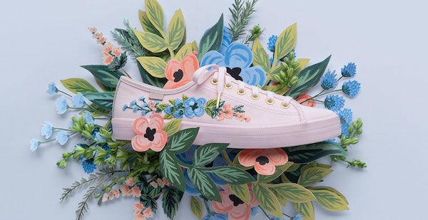 Elegant Floral Footwear Designs
