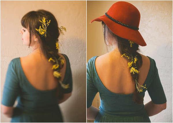 Chic Floral Hair Tutorials