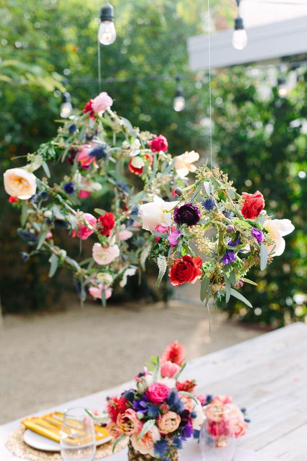DIY Floral Pendants