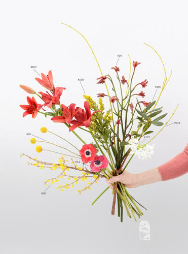 Text-Based Floral Arrangements