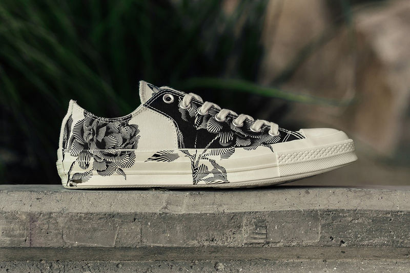 Printed Floral Sneaker Designs