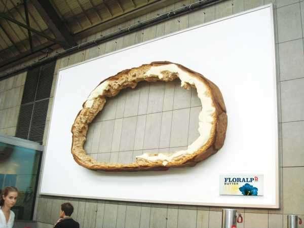 3-D Breadvertising