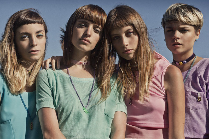Pastel Friendship Editorials