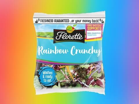 Colorful Ready-to-Eat Salad Mixes