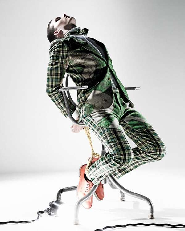 Constricted Couture Editorials