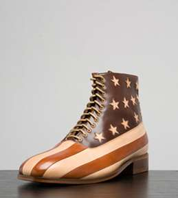 Rugged Patriotic Boots