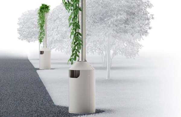 Lush Planter Receptacles