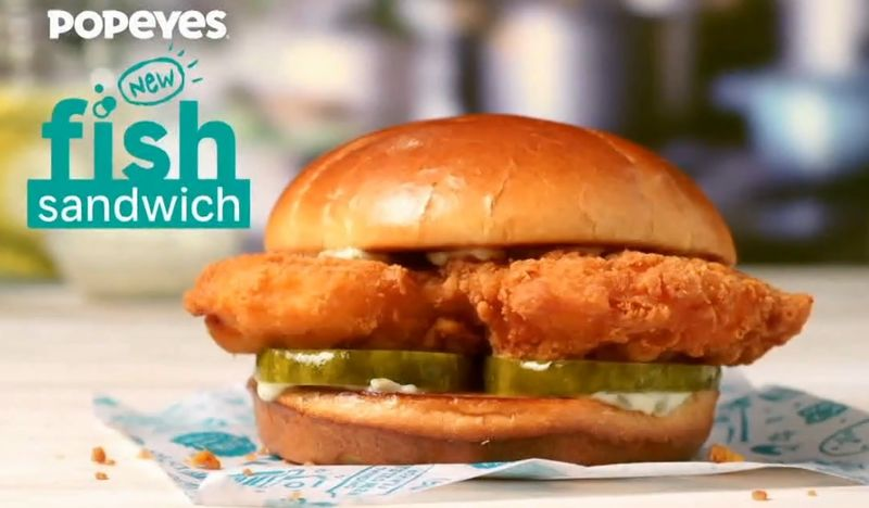 Fast Food Flounder Sandwiches