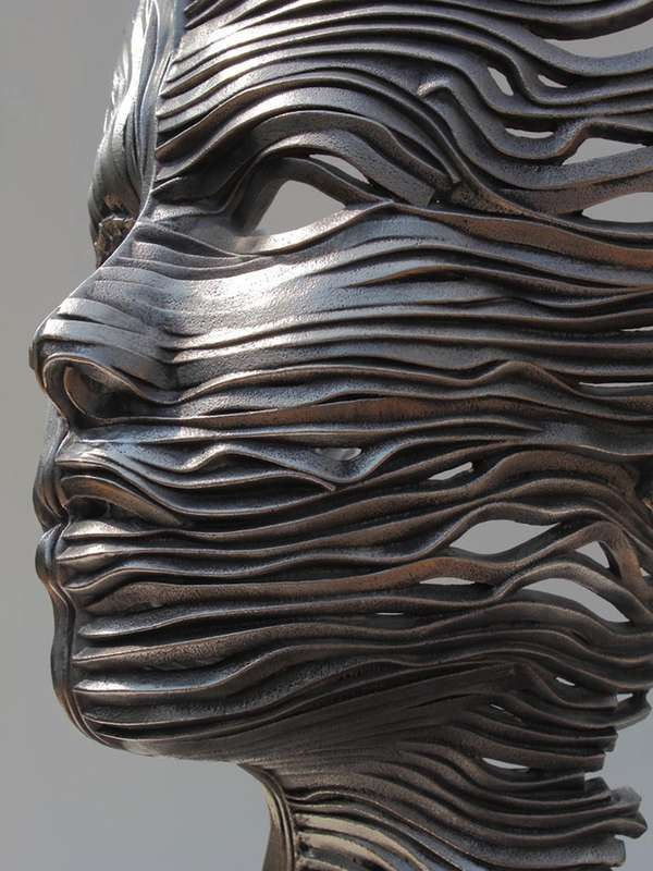 Flowing Organic Steel Sculptures