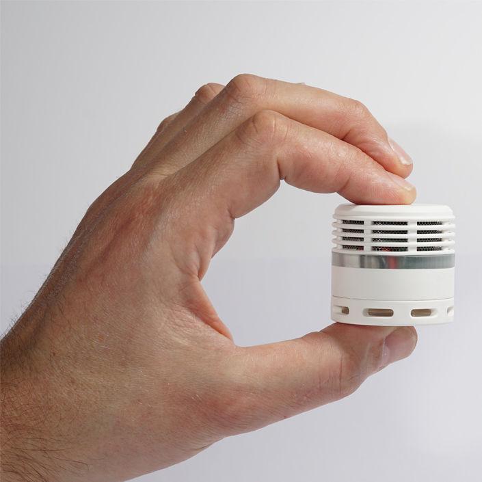 Compact Miniature Smoke Detectors